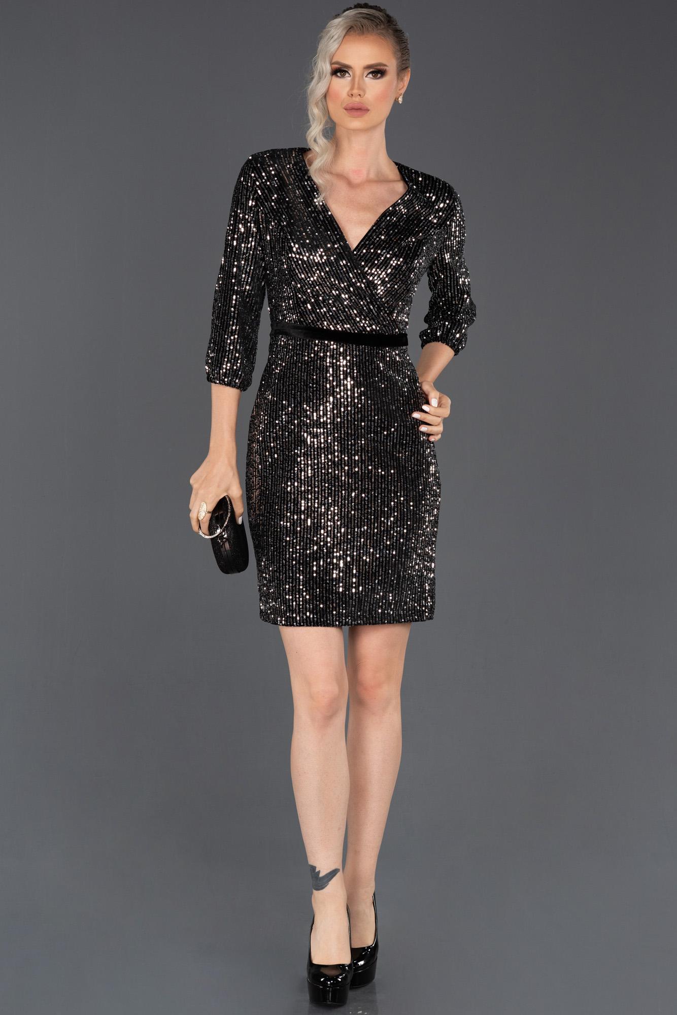 Short Silver Velvet Evening Dress Abk627 Abiyefon Com