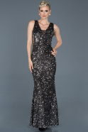 Silver Long Mermaid Prom Dress ABU882