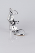 Silver Mirror Evening Shoes AB1035