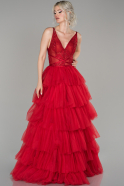 Red Long Haute Couture ABU1192
