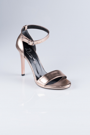 Brown Skin Evening Shoes AB1026