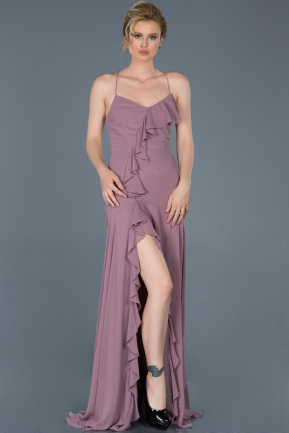 Long Lavender Prom Gown ABU804