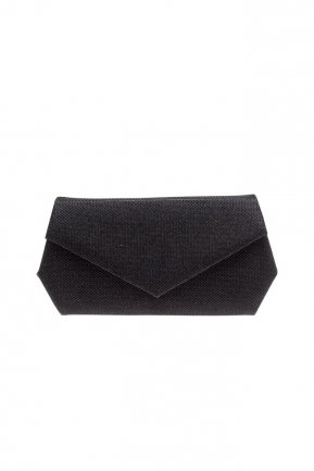Black Silvery Evening Bag V427