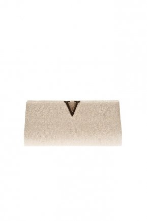 Gold Silvery Evening Bag V410