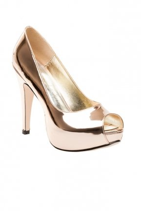 Rose Mirror Evening Shoes SM4398