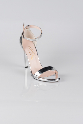 Silver Mirror Evening Shoes AB1026
