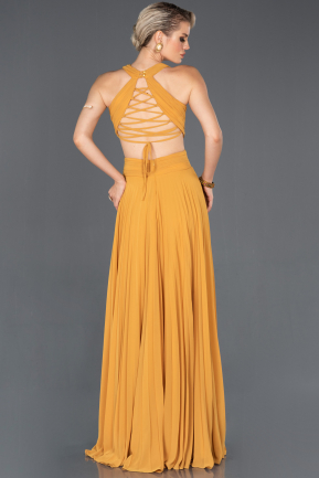 Saffron Long Prom Gown ABU841