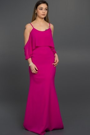 Long Fuchsia Evening Dress AR36923