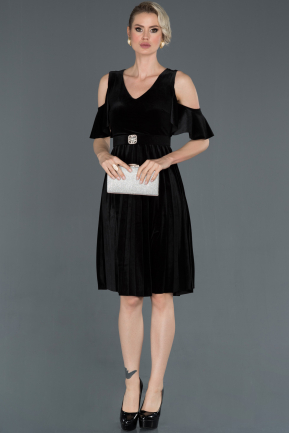 Short Black Invitation Dress ABK731