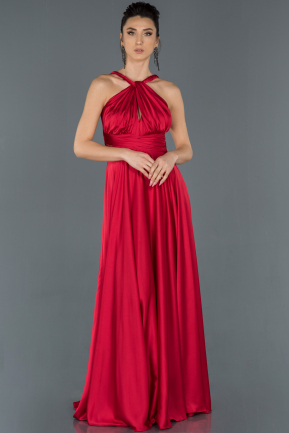 Long Red Prom Gown ABU1173