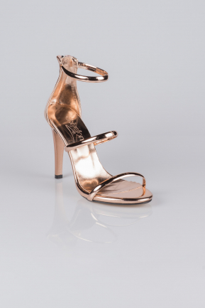 Rose Mirror Evening Shoes AB1035