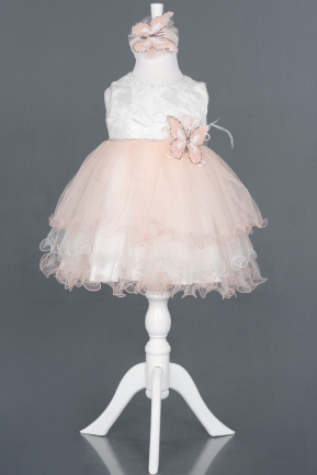 Short Pink Girl Dress ABK790