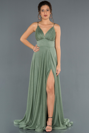 Long Mint Prom Gown ABU1303