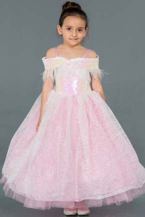 Pink Kid Wedding Dress OK712