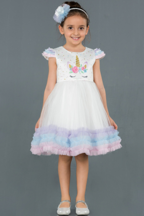 Short Rins Girl Dress ABK793