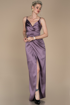 Lavender Long Engagement Dress ABU564