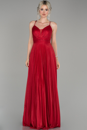 Red Long Engagement Dress ABU1441