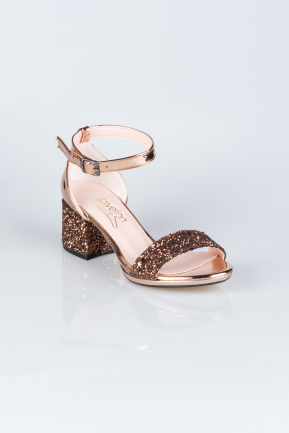 Copper Evening Shoes AB1005