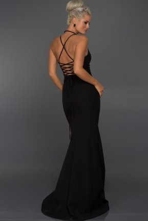 Long Black Evening Dress AB7245