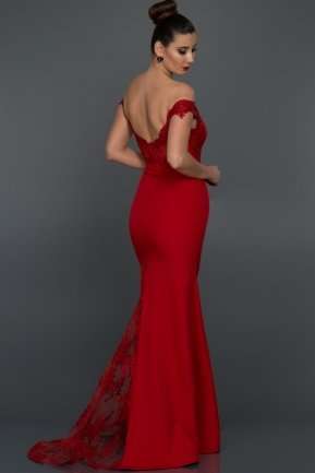 Long Red Evening Dress AN2376