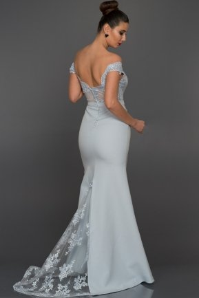 Long Blue Evening Dress AN2376