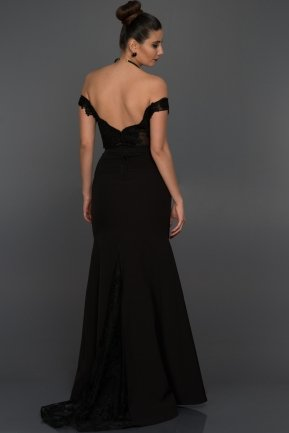 Long Black Evening Dress AN2376