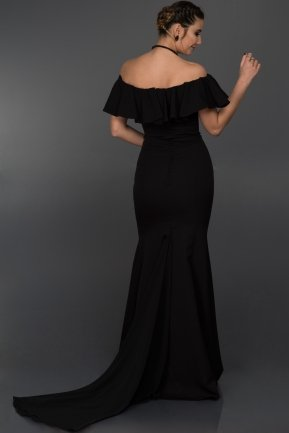 Long Black Sweetheart Evening Dress ALY7434