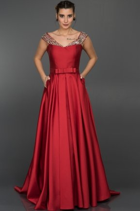 Long Red Evening Dress GG6921