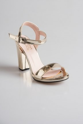Gold Mirror Evening Shoes PK6302