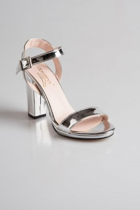 Silver Mirror Evening Shoes PK6302