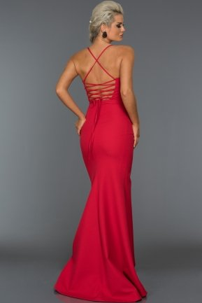 Long Red Evening Dress AB7245