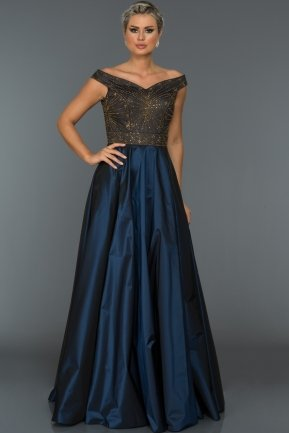 Long Parlement Evening Dress ABU027