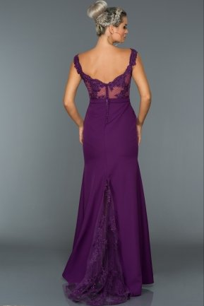 Long Purple Evening Dress AN2376
