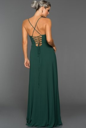 Long Emerald Green Evening Dress ABU070