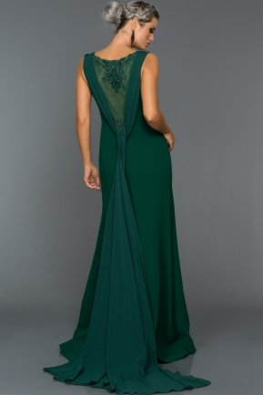 Long Emerald Green Evening Dress GG6881