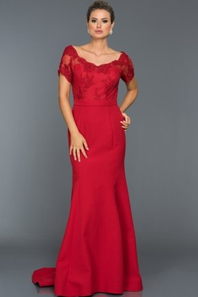 Long Red Evening Dress AN2492