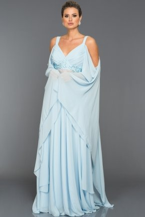 Long Blue Evening Dress ABU268