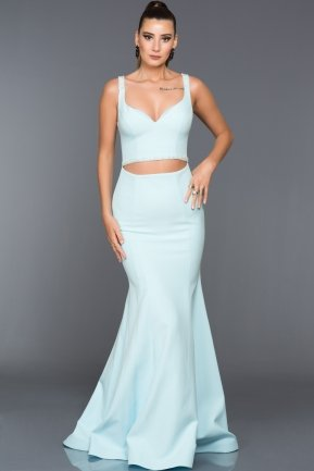 Long Blue Evening Dress AN2400
