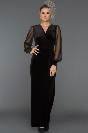 Black Jumpsuit ABT017