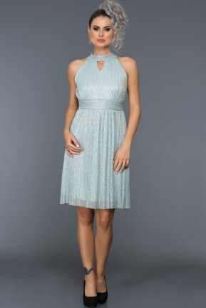 Short Blue Evening Dress BL2070