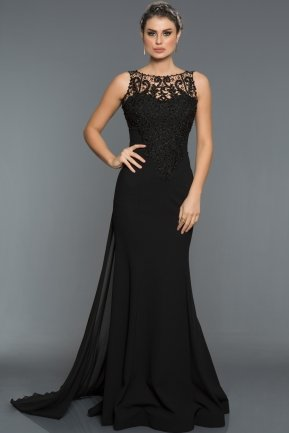 Long Black Evening Dress GG6856