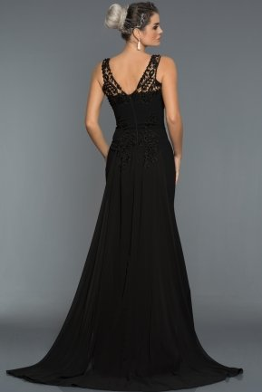 Long Black Evening Dress AB6856