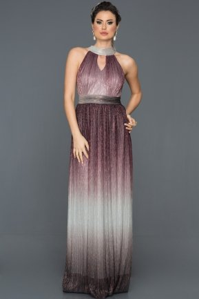 Long Burgundy Prom Gown BL2098