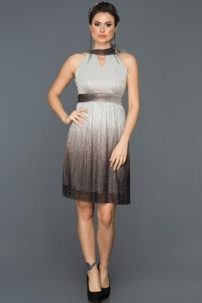 Short Copper Prom Gown BL2110