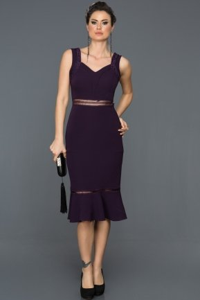 Purple Prom Gown DS489
