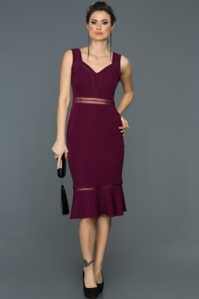 Plum Prom Gown DS489