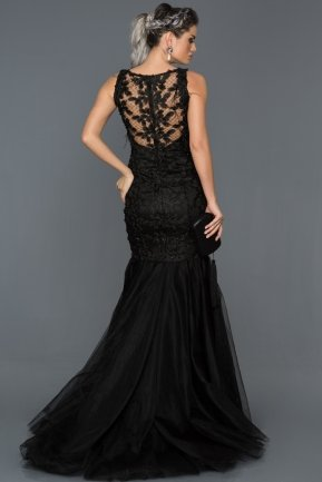 Tail Black Mermaid Prom Dress ABU557