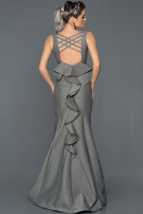 Long Grey Mermaid Prom Dress GG7064