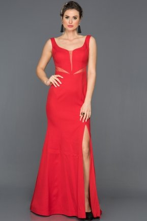 Long Red Prom Gown AN2574