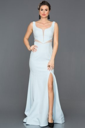 Long Blue Prom Gown AN2574